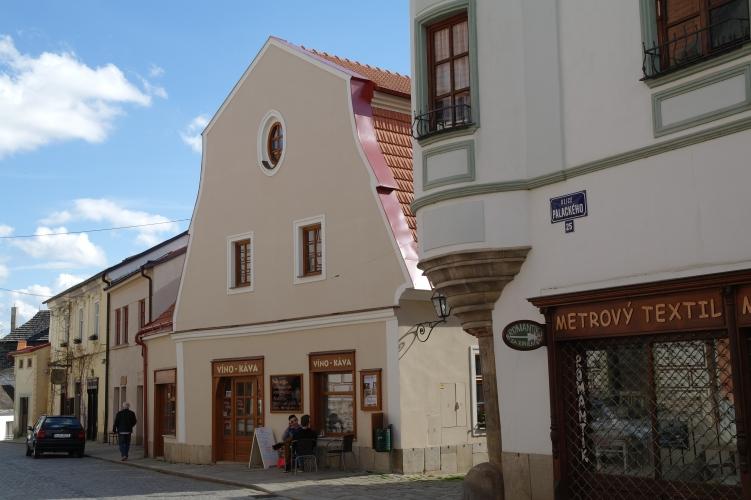 Ubytování v centru Telče, penzion Hradební