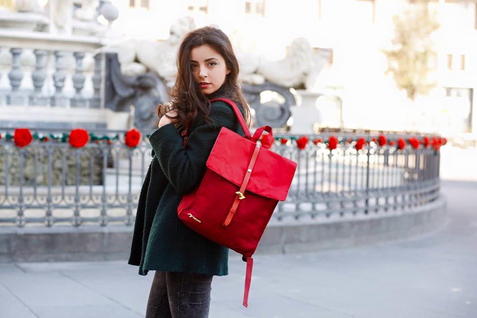 Trendy batoh Natwee Red, foto: Pinkypop.cz